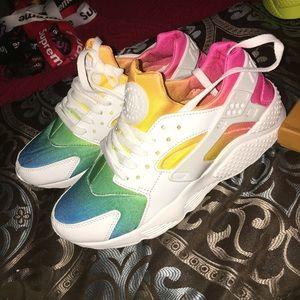 Rainbow huaraches